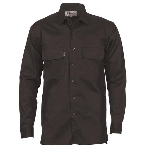 e0b13a9c88db Work Shirt- Cool Breeze- Long Sleeve- Black or Navy | Mitaco ...