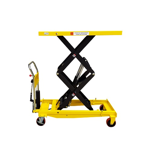 Hydraulic Double Scissor Lift Table- 1000kg Capacity / 1 7m Lift
