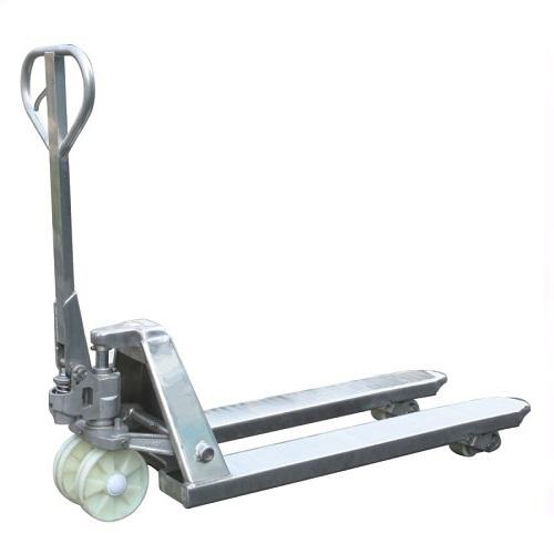 Stainless Steel Hand Jack : Kg stainless steel pallet jack mm mitaco